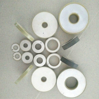 Piezoelectric Ceramic Ring Element PZT-8 for Ultrasonic Transducer