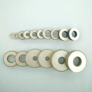 Piezoelectric ceramic ring element