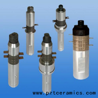 ultrasonic welding transducer for plastic and metal welding