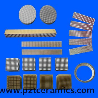 Piezoelectric Ceramic Composite Material