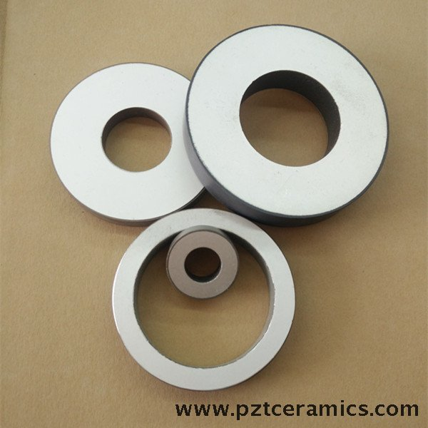 High Quality PZT Ring Piezoelectric Ceramic Ring PZT-4
